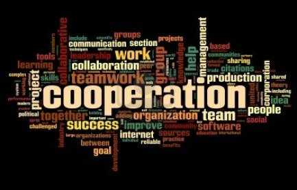 13043295-cooperation-and-teamwork-concept-in-word-tag-cloud-on-whiteblack
